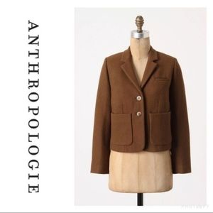 Anthropologie / Cartonnier Wool Blazer
